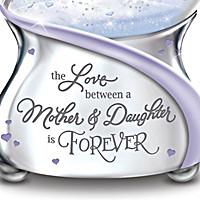 The Love Between A Mother & Daughter Glitter Globe