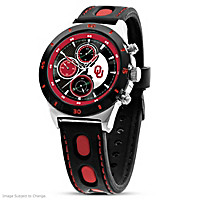 Game Time Oklahoma Sooners Men's Watch