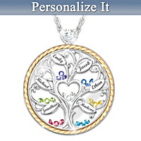 Our Story Personalized Pendant Necklace