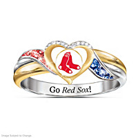 Boston Red Sox Pride Ring