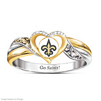 New Orleans Saints Pride Ring