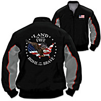 Proud Nation Men\'s Jacket