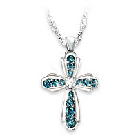 Heaven\'s Blessing Diamond Pendant Necklace