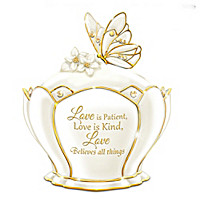 Love Believes All Things Music Box