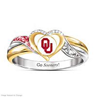 Oklahoma Sooners Pride Ring