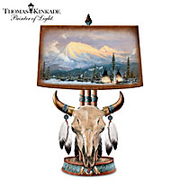 Thomas Kinkade Mountain Majesty Lamp