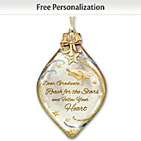 Heartfelt Wishes For The Graduate Personalized Ornament