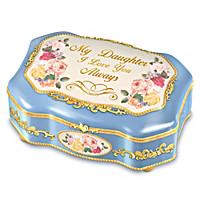 Daughter Antique Treasure Music Box