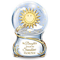My Daughter, You Are My Sunshine Glitter Globe