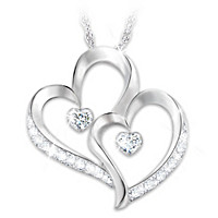 Forever Loved Diamond Pendant Necklace