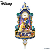Disney Beauty And The Beast Happily Ever After Wall Clock