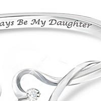Always My Daughter Diamond Bracelet