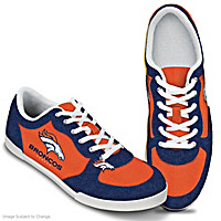 Denver Broncos #1 Fan Women's Shoes