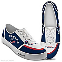 Houston Texans #1 Fan Women's Shoes