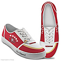 San Francisco 49ers #1 Fan Women's Shoes