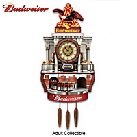 Budweiser Brewery Tour Wall Clock