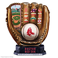 Boston Red Sox Glove Sculpture