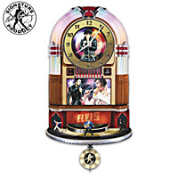 Elvis Presley Rock \'N\' Roll Wall Clock
