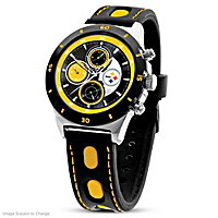 Game Time Pittsburgh Steelers Men's Watch