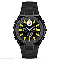 It\'s Steelers Time! Men\'s Watch