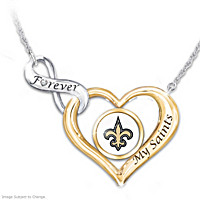 Forever My Saints Diamond Necklace