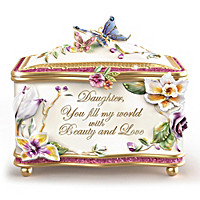 A Daughter's Beauty And Love Music Box