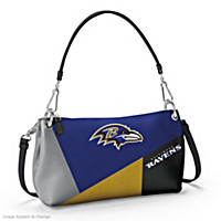Baltimore Ravens Convertible Handbag