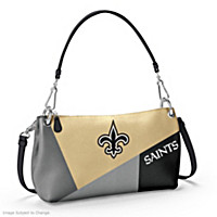 New Orleans Saints Convertible Handbag