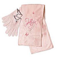 The Beauty Of Hope Heated Scarf And Gloves Set