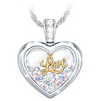 Shine With Love Pendant Necklace