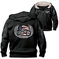 All-American Rider Men's Hoodie