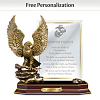 Marine Honor Personalized Sculpture