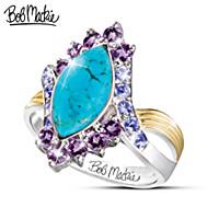Turquoise Majesty Ring