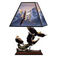 Summit Majesty Stained Glass Lamp
