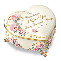 Granddaughter, I Love You Always Music Box