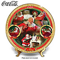 COCA-COLA Holiday Treasures Collector Plate