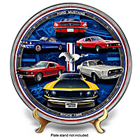 Ford Mustang Collector Plate