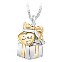 Grandma's Greatest Gift Diamond Pendant Necklace