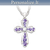 My Dear Daughter Personalized Pendant Necklace