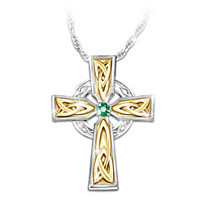 Irish Blessing Pendant Necklace