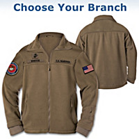 U.S. Military Personalized Men\'s Jacket