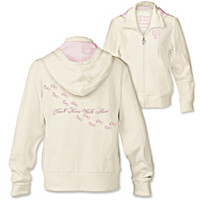 Footprints Of Hope Women's Hoodie