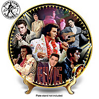 Elvis Presley 40th Anniversary Commemorative Collector Plate