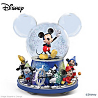 Disney Mickey Mouse Glitter Globe