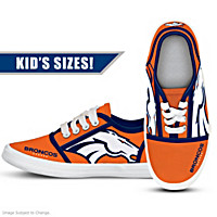 Denver Broncos Kid's Shoes