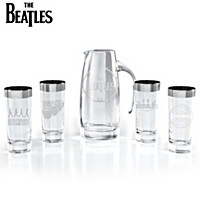 The Beatles Pitcher And Glassware Set