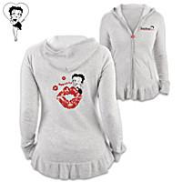 Ooh-La-La Betty Boop Women\'s Hoodie