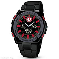 It's Crimson Tide Time! Ani-Digi Men's Watch
