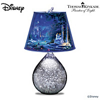 Disney Thomas Kinkade Dancing In The Starlight Lamp