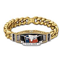 Texas Pride Men\'s Bracelet